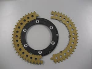 Gear double treated G.H.A® 20 & 50 micron for improve wear resistance.